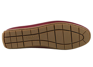 Load image into Gallery viewer, Tomaz C331 Striped Penny Loafers (Wine) - Tomaz Shoes (782158725209)
