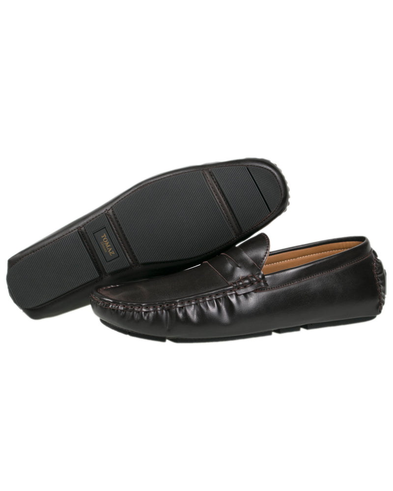 Load image into Gallery viewer, Tomaz C323 Penny Moccasins (Coffee) men's shoes casual, men's dress shoes, discount men's shoes, shoe stores, mens shoes casual, men's casual loafers men's loafers sale, men's dress loafers, shoe store near me.