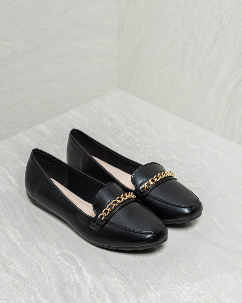 Tomaz 9FC44 Ladies Loafers (Black)
