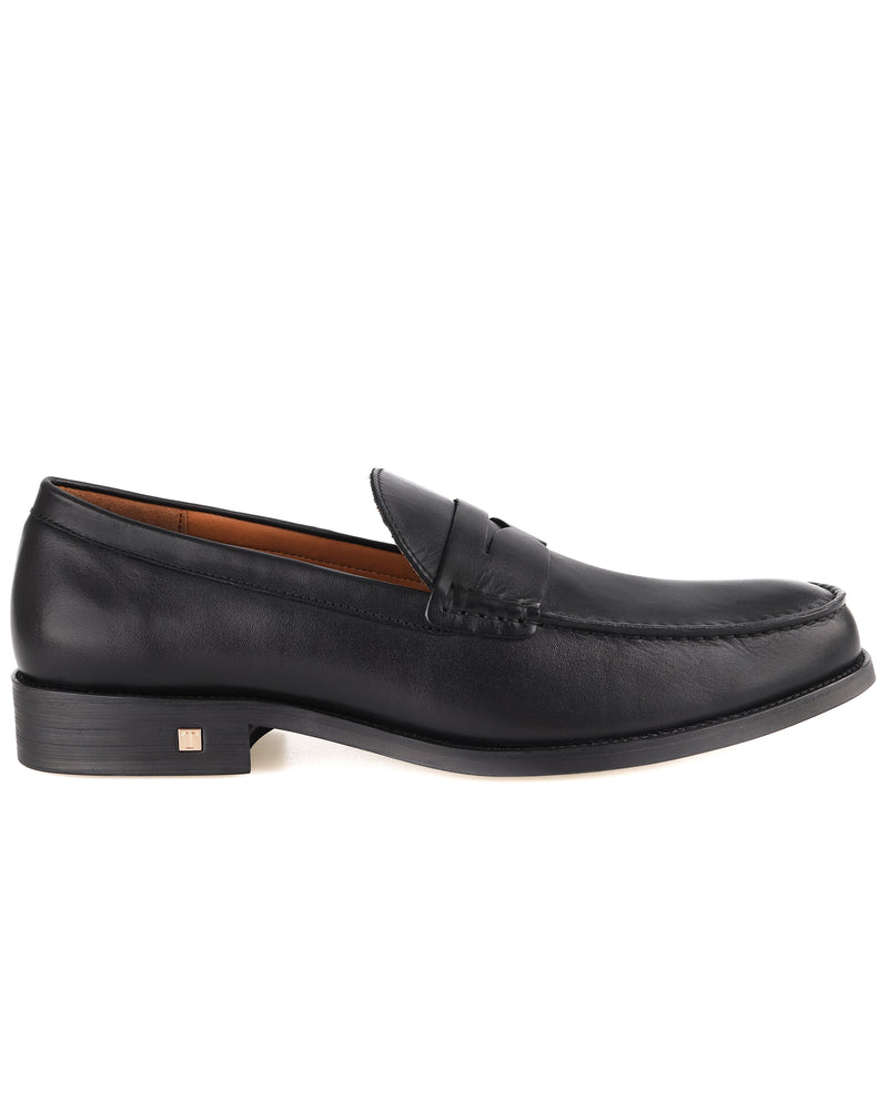 Load image into Gallery viewer, Tomaz BF249 Penny Loafers (Black) Tomaz BF249 Penny Loafers (Black) men shoe, men's shoe, men's italian dress shoes, men's dress shoes, men's dress shoes near me, shoe shop near me, tomaz shoe locations, shoe store near me, formal shoes
