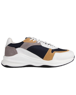 Load image into Gallery viewer, Tomaz BK001 Casual Sneakers (White/Yellow)