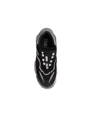 Load image into Gallery viewer, Tomaz BK002 Casual Sneakers (Black)