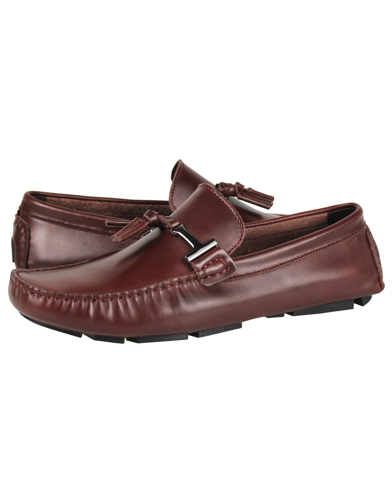Tomaz C004A Buckled Tassel Loafers (Wine) men's shoes casual, men's dress shoes, discount men's shoes, shoe stores, mens shoes casual, men's casual loafers men's loafers sale, men's dress loafers, shoe store near me.