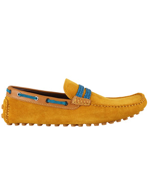 Load image into Gallery viewer, Tomaz C093 Moccasins (Yellow)
