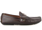 Tomaz C128 Buckle Moccasins (Coffee) (4463455338592)