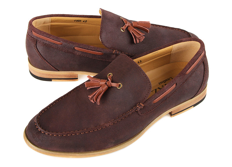 Tomaz C203 Tassel Loafers (Coffee/Brown)