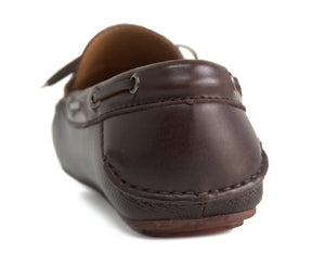 Tomaz C223 Front Tie Moccasins (Coffee) - Tomaz Shoes