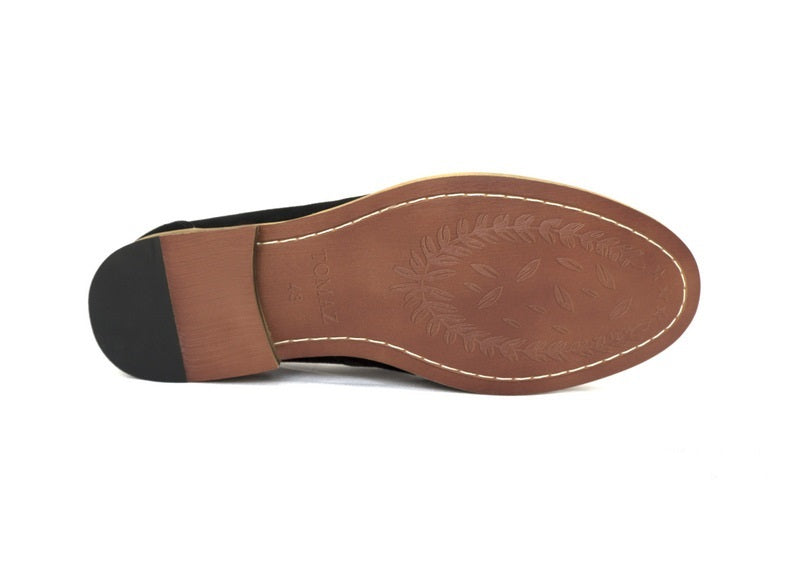 Load image into Gallery viewer, Tomaz C229 Penny Loafers (Black) - Tomaz Shoes (389124620317)
