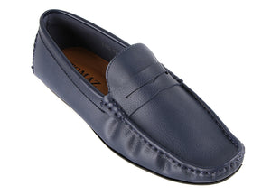 Load image into Gallery viewer, Tomaz C232 Penny Moccasins (Navy) (4463462973536)