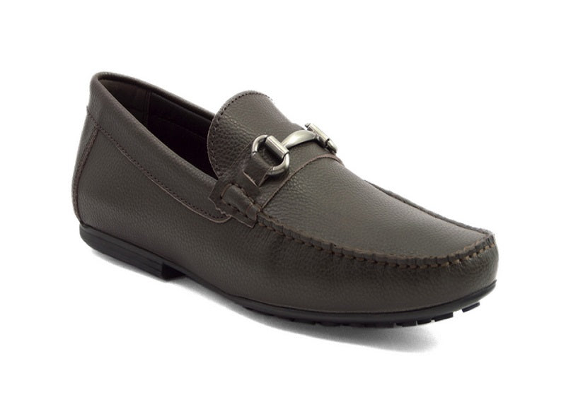 Load image into Gallery viewer, Tomaz C247 Buckle Loafers (Coffee) - Tomaz Shoes (388308140061)
