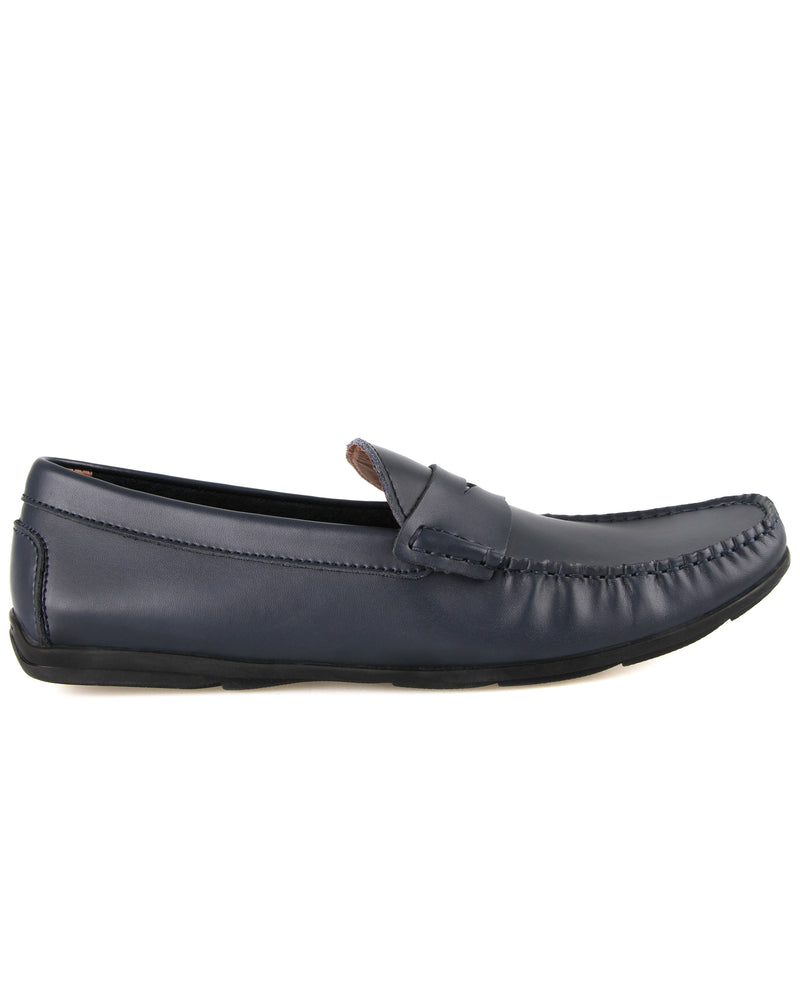 Tomaz C248 Penny Moccasins (Navy) men's shoes casual, men's dress shoes, discount men's shoes, shoe stores, mens shoes casual, men's casual loafers men's loafers sale, men's dress loafers, shoe store near me.