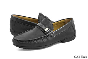 Tomaz C254 Buckled Loafers (Black) - Tomaz Shoes