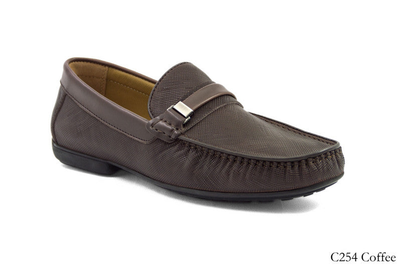 Load image into Gallery viewer, Tomaz C254 Buckled Loafers (Coffee) - Tomaz Shoes (8338043144)