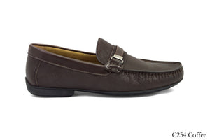 Tomaz C254 Buckled Loafers (Coffee) - Tomaz Shoes