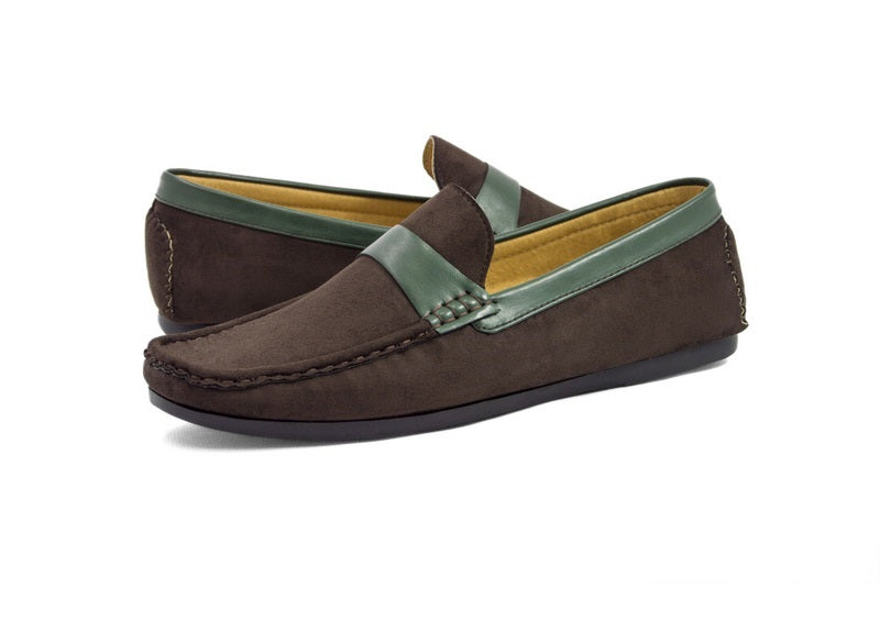 Load image into Gallery viewer, Tomaz C256 Penny Strap Loafers (Coffee) - Tomaz Shoes (382139990045)