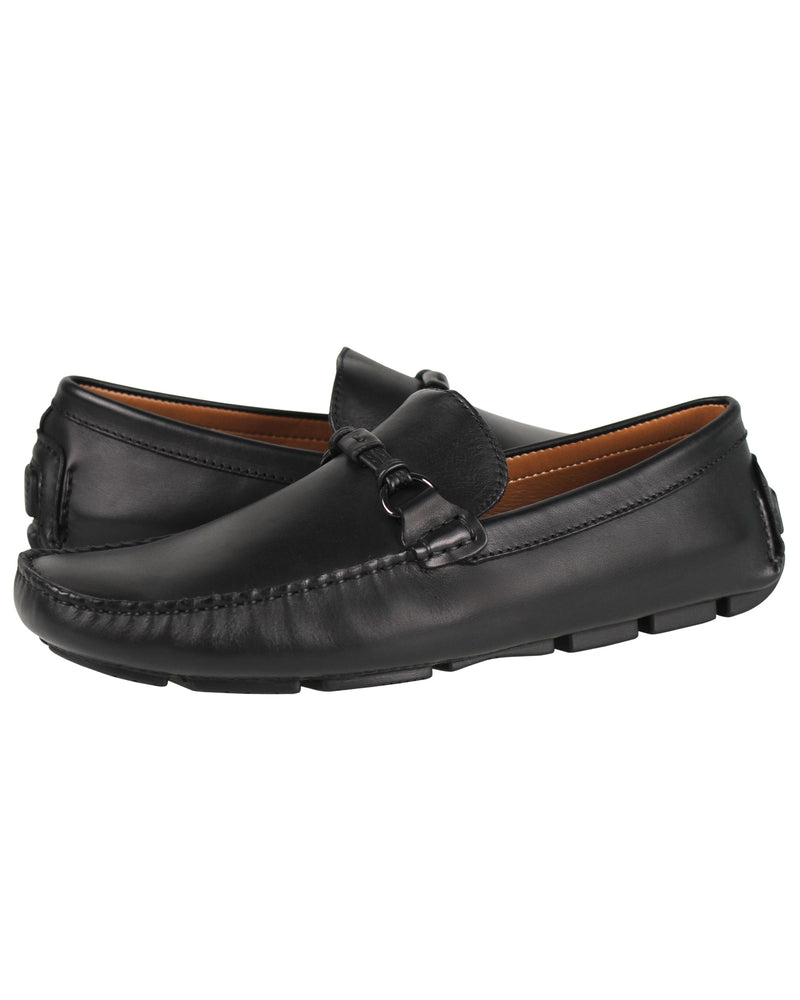 Load image into Gallery viewer, Tomaz C258 Buckled Moccasins (Black) men's shoes casual, men's dress shoes, discount men's shoes, shoe stores, mens shoes casual, men's casual loafers men's loafers sale, men's dress loafers, shoe store near me.