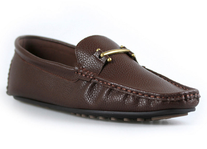 Load image into Gallery viewer, Tomaz C271 Buckle Slip On (Coffee) - Tomaz Shoes (9288327176)