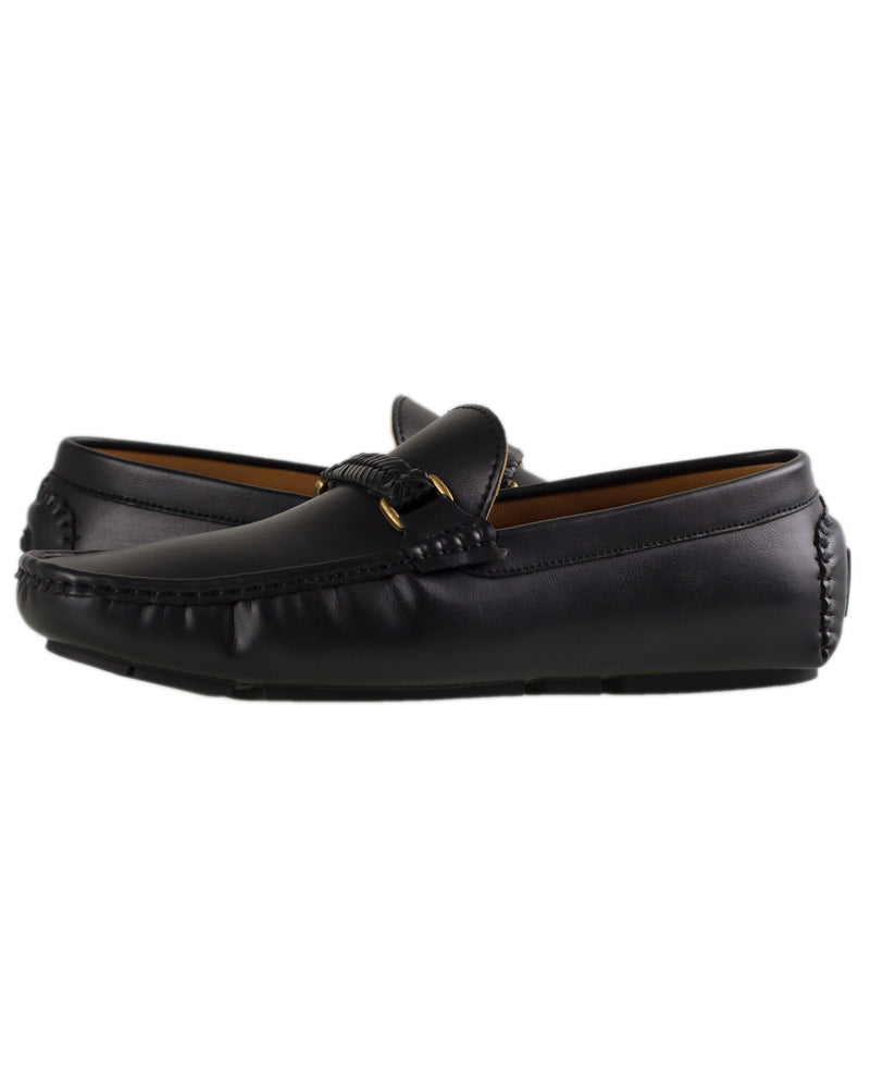 Load image into Gallery viewer, Tomaz C297 Braided Moccasins (Black)