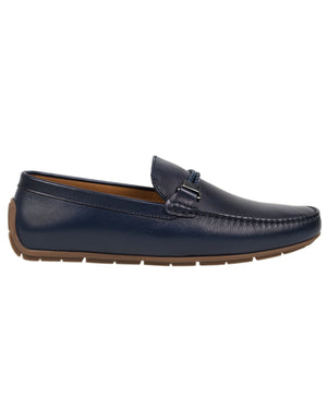 Load image into Gallery viewer, Tomaz C319 Braided Buckled Moccasins (Navy) men's shoes casual, men's dress shoes, discount men's shoes, shoe stores, mens shoes casual, men's casual loafers men's loafers sale, men's dress loafers, shoe store near me.