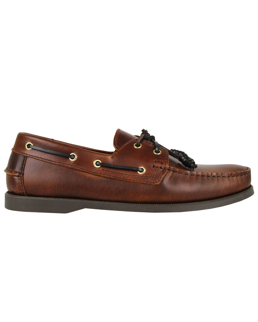 Tomaz C328-1 Leather Boat Shoes (Brown)