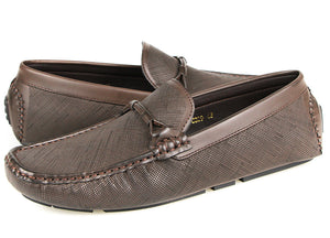 Load image into Gallery viewer, Tomaz C389 Buckle Moccasins (Coffee) (1905287725152)