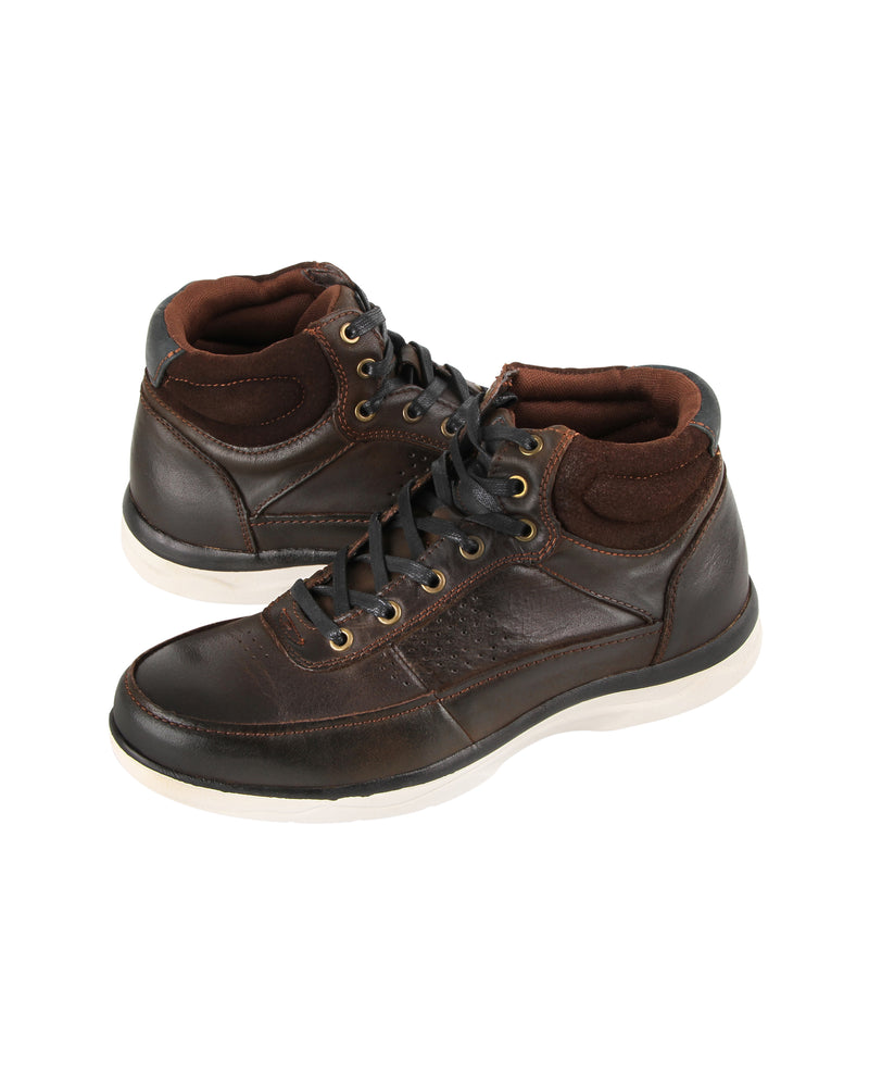 Load image into Gallery viewer, Tomaz C396 Mens High Tops (Coffee)