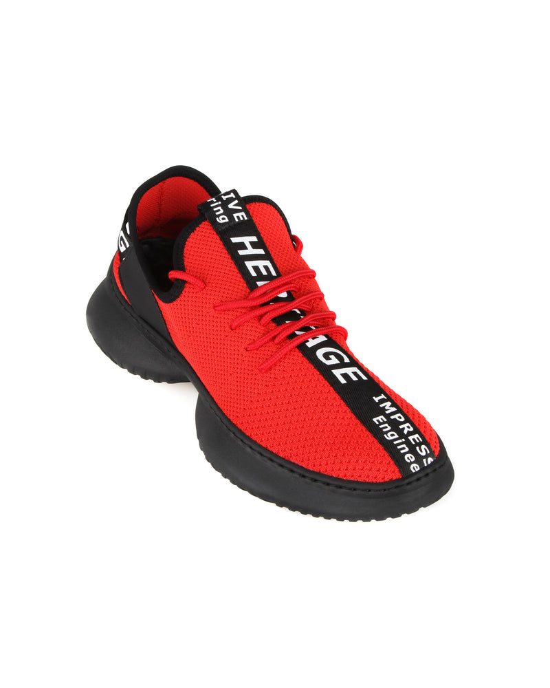 Load image into Gallery viewer, Tomaz C404A Casual Sneakers (Red)