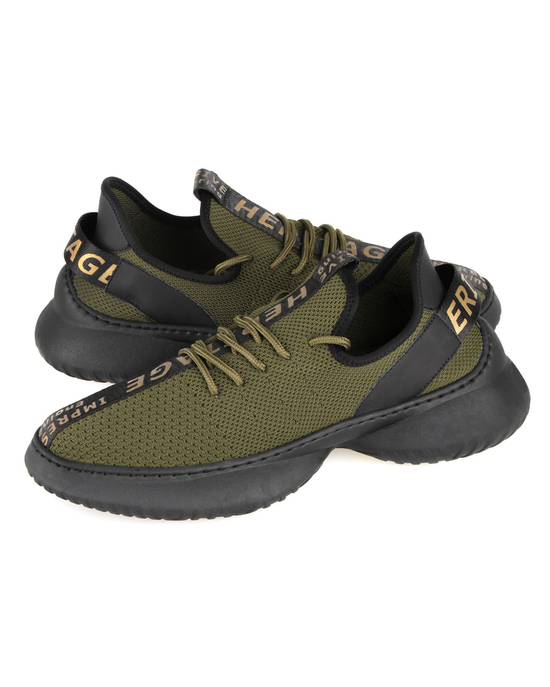 Load image into Gallery viewer, Tomaz C404A Casual Sneakers (Dark Green)