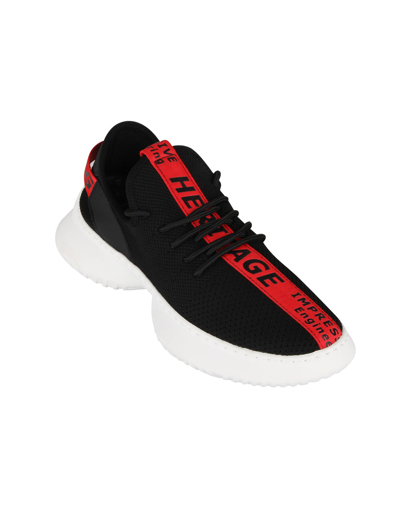 Load image into Gallery viewer, Tomaz C404 Casual Sneakers (Black Red) mens shoes sneaker, men's casual sneakers, Men sneakers, Men sneakers on sale, Men sneakers 2020, Men's sneakers on sale near me, Men's running sneakers on sale.
