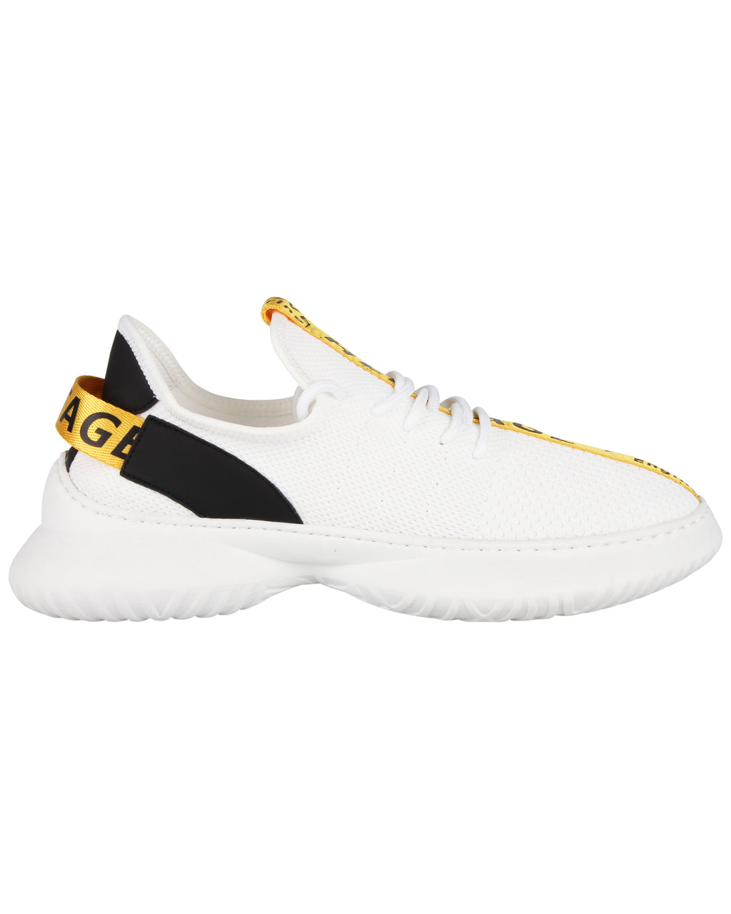 Tomaz C404 Casual Sneakers (White Yellow)