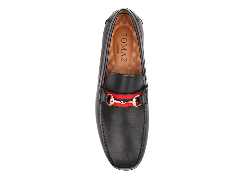 Load image into Gallery viewer, Tomaz C407 Buckled Loafers (Black) (4183339434080)