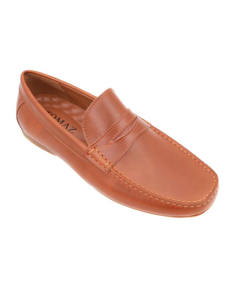 Load image into Gallery viewer, Tomaz C408 Penny Loafers (Brown) men's shoes casual, men's dress shoes, discount men's shoes, shoe stores, mens shoes casual, men's casual loafers men's loafers sale, men's dress loafers, shoe store near me.