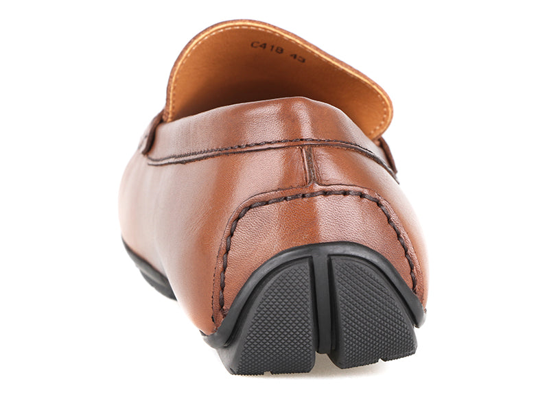 Load image into Gallery viewer, Tomaz C418 Buckle Moccasins (Coffee) (2204906291296)