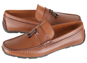 Load image into Gallery viewer, Tomaz C419 Tassel Loafers (Coffee) (2204910780512)