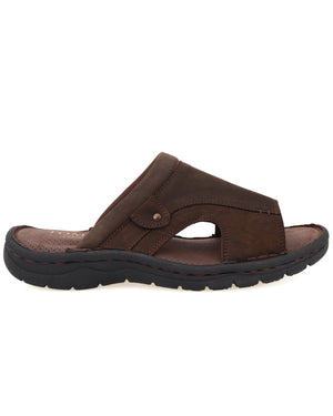 Load image into Gallery viewer, Tomaz C440 Mens Sandals (Coffee)
