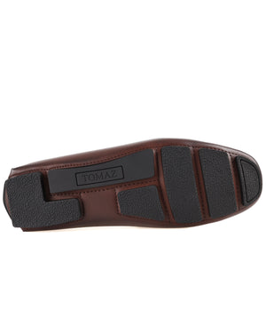 Load image into Gallery viewer, Tomaz C443 Buckle Moccasins (Coffee)