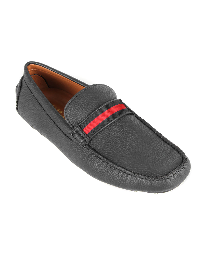 Load image into Gallery viewer, Tomaz C445 Penny Moccasins (Black) men's shoes casual, men's dress shoes, discount men's shoes, shoe stores, mens shoes casual, men's casual loafers men's loafers sale, men's dress loafers, shoe store near me.