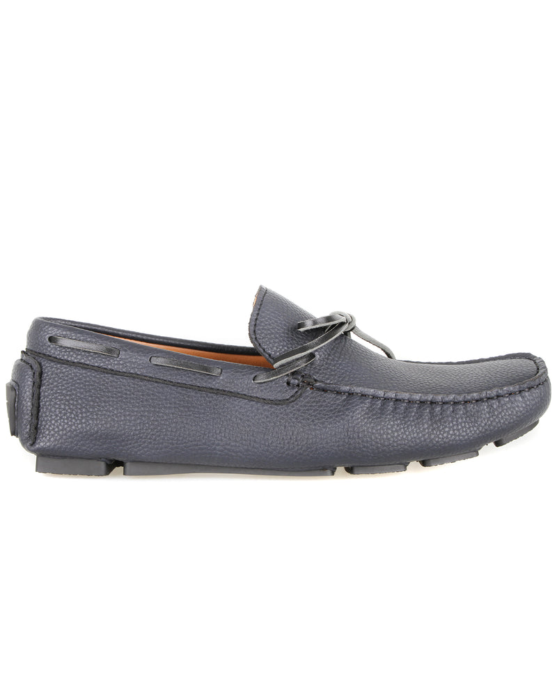 Tomaz C447 Bow Moccasins (Navy) men's shoes casual, men's dress shoes, discount men's shoes, shoe stores, mens shoes casual, men's casual loafers men's loafers sale, men's dress loafers, shoe store near me.