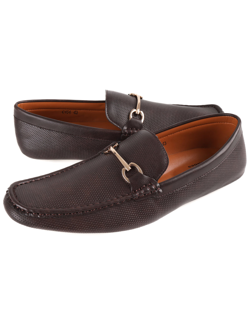 Load image into Gallery viewer, Tomaz C454 Horsebit Buckle Moccasins (Coffee) men's shoes casual, men's dress shoes, discount men's shoes, shoe stores, mens shoes casual, men's casual loafers men's loafers sale, men's dress loafers, shoe store near me.