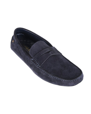 Load image into Gallery viewer, Tomaz C458 Penny Moccasins (Navy) men's shoes casual, men's dress shoes, discount men's shoes, shoe stores, mens shoes casual, men's casual loafers men's loafers sale, men's dress loafers, shoe store near me.