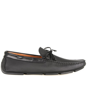 Load image into Gallery viewer, Tomaz C461 Braided Bow (Black) men's shoes casual, men's dress shoes, discount men's shoes, shoe stores, mens shoes casual, men's casual loafers men's loafers sale, men's dress loafers, shoe store near me.