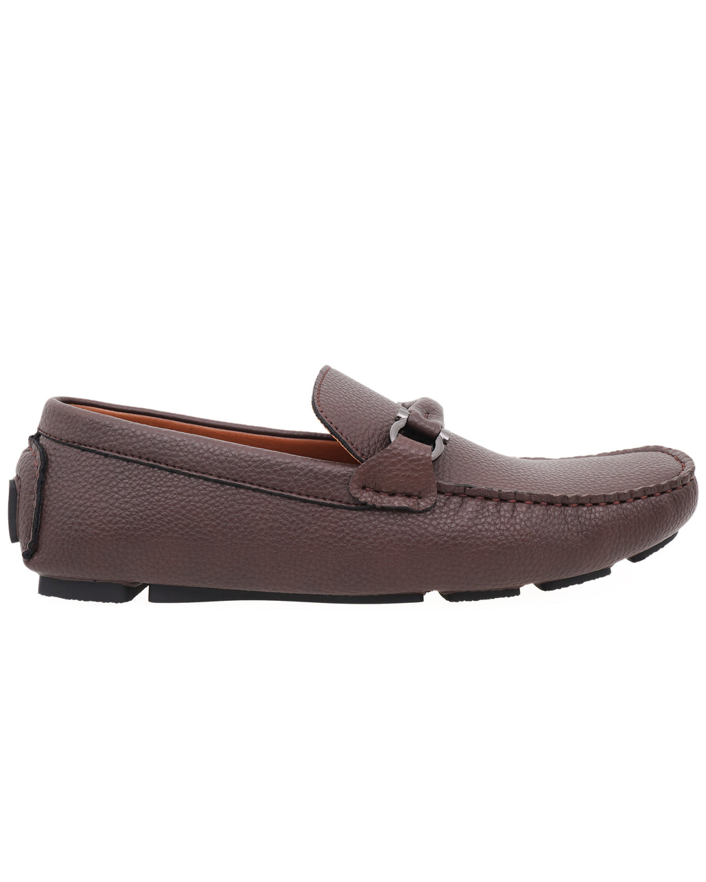 Tomaz C464 Metal Buckle Moccasins (Coffee)