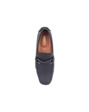 Load image into Gallery viewer, Tomaz C464 Metal Buckle Moccasins (Navy) men's shoes casual, men's dress shoes, discount men's shoes, shoe stores, mens shoes casual, men's casual loafers men's loafers sale, men's dress loafers, shoe store near me.