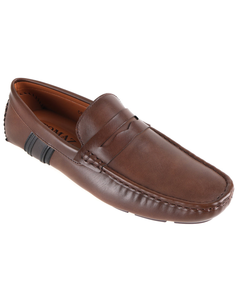 Load image into Gallery viewer, Tomaz C467 Penny Moccasins (Coffee) men's shoes casual, men's dress shoes, discount men's shoes, shoe stores, mens shoes casual, men's casual loafers men's loafers sale, men's dress loafers, shoe store near me.