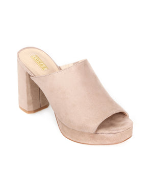 Load image into Gallery viewer, Tomaz CCH1 Ladies Heels (Taupe)
