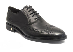 Load image into Gallery viewer, Tomaz F058 Wingtip Brogue (Black) - Tomaz Shoes (10574911752)