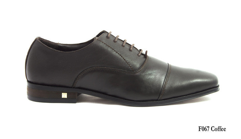 Tomaz F067 Oxford Captoe (Coffee) - Tomaz Shoes (6259417092)