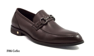 Load image into Gallery viewer, Tomaz F086 Buckled Loafers (Coffee) - Tomaz Shoes (7776190920)