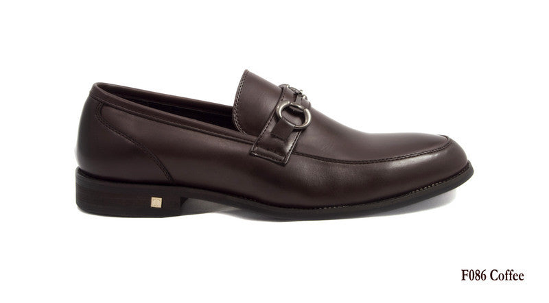 Tomaz F086 Buckled Loafers (Coffee) - Tomaz Shoes (7776190920)