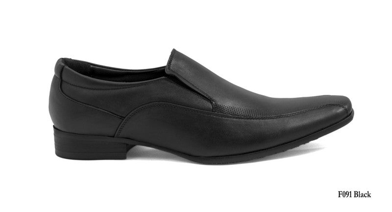 Tomaz F091 Formal Slip On (Black) - Tomaz Shoes (7789725896)